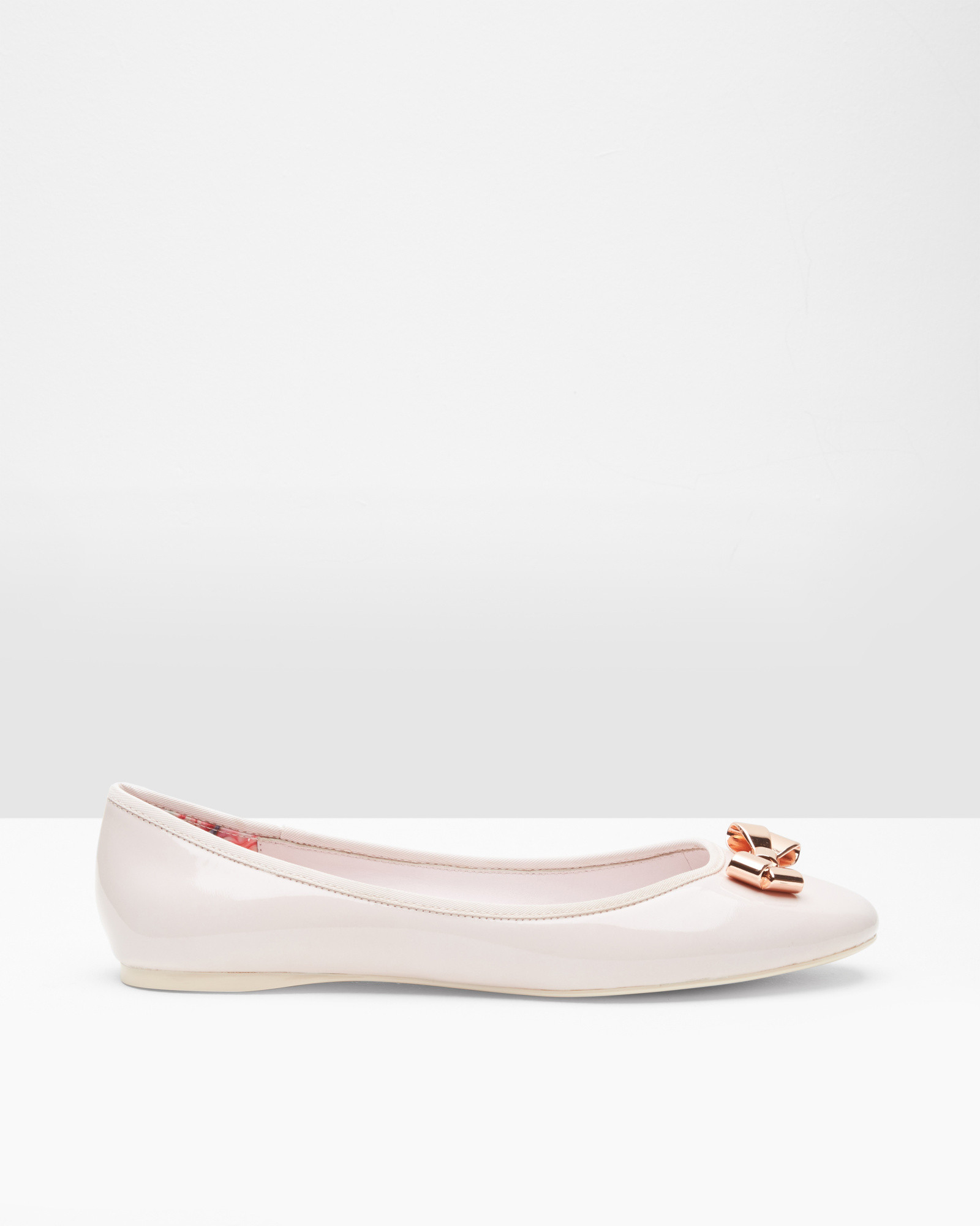 6ebe632d0b0943 Ted baker bow detail ballerina pumps in pink lyst jpg 1600x2000 Ted baker  baby shoes