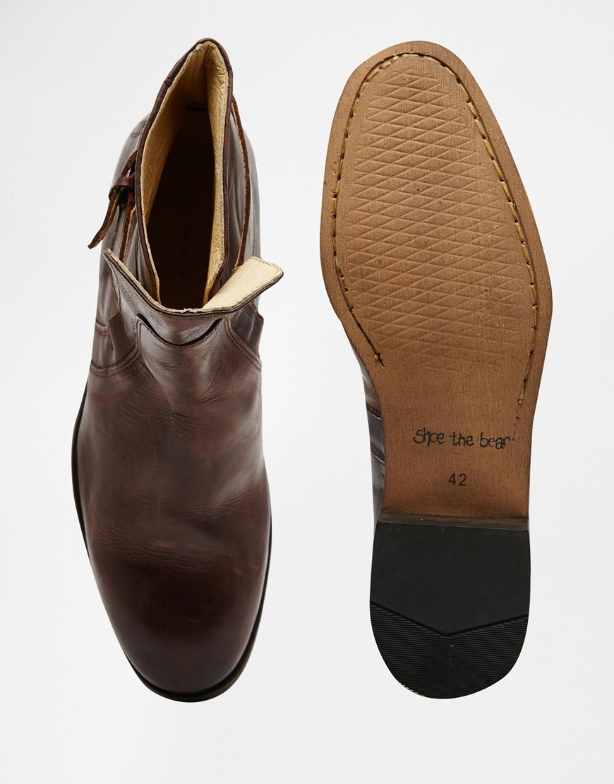 Shoe The Bear Hoe The Bear Fulham Boots In Brown For Men