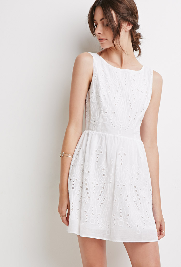 Find white eyelet dress at Macy's Macy's Presents: The Edit - A curated mix of fashion and inspiration Check It Out Free Shipping with $75 purchase + Free Store Pickup.