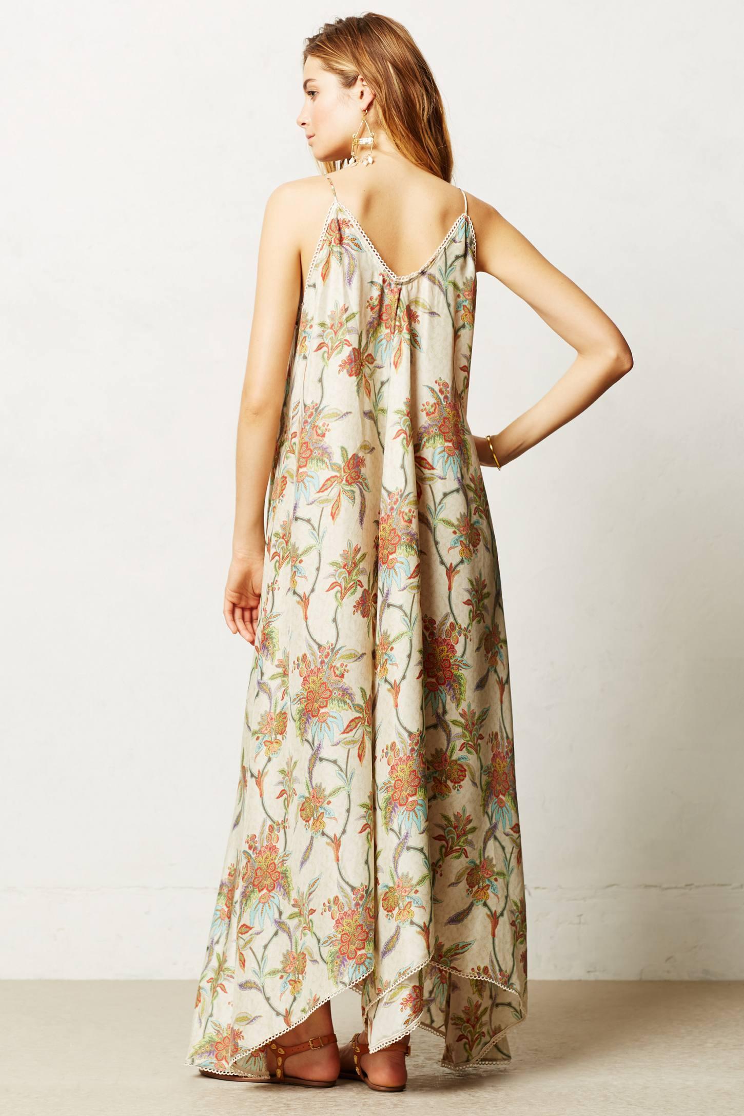 Lyst Zimmermann Lani Maxi Dress In Natural