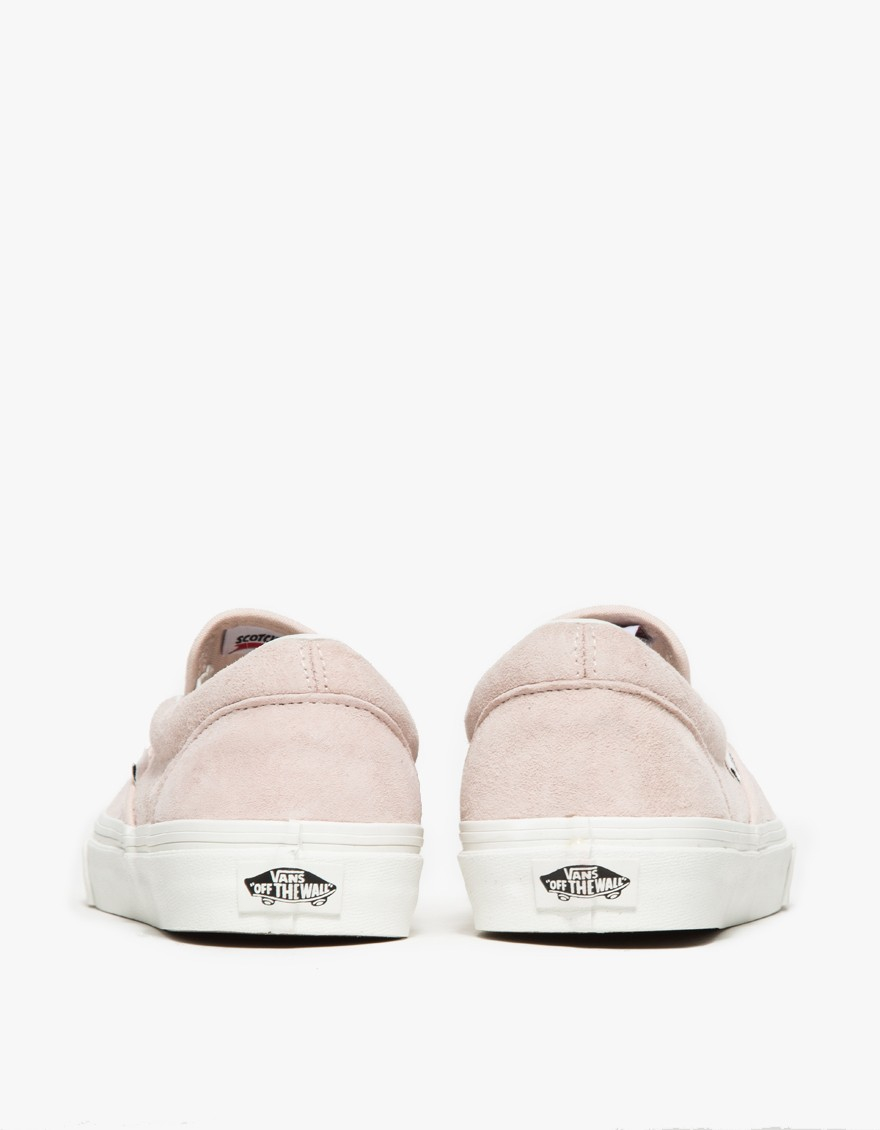 Vans Suede Classic Slip On Iced Pink Croc Lyst