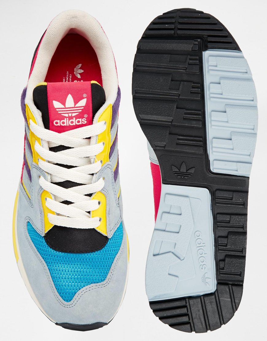 ad2d4261dcd5 ... italy lyst adidas zx 420 multi colored sneakers 6a099 7011b