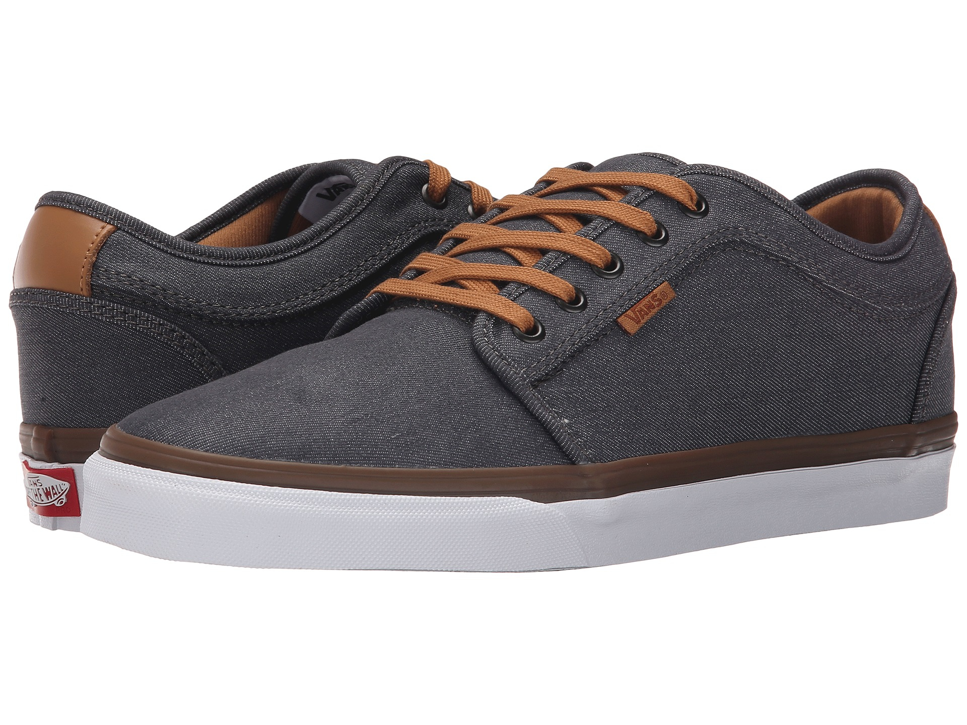 vans chukka low grey denim