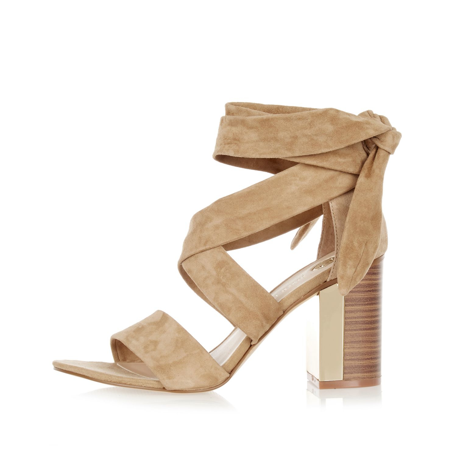River Island Heeled mules - cream M9M8orGI