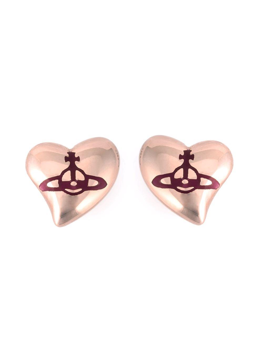 Vivienne Westwood heart earrings - Metallic boluqBh6gG