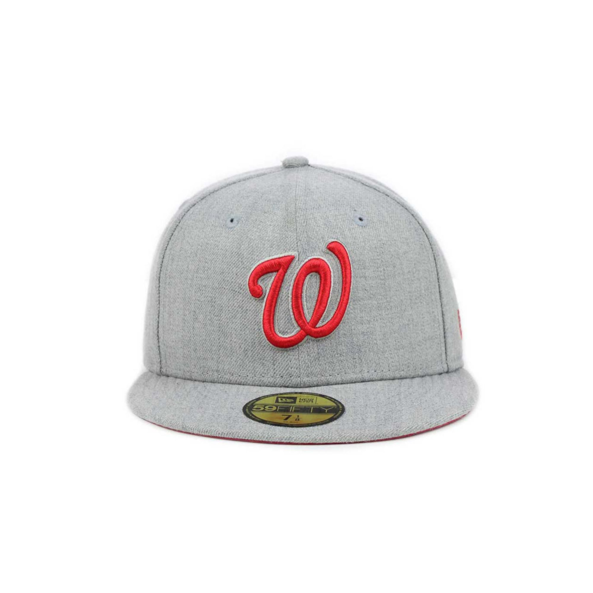official photos 26159 8be44 ... italy lyst ktz washington nationals mlb heather basic 59fifty cap in  36e61 46e49