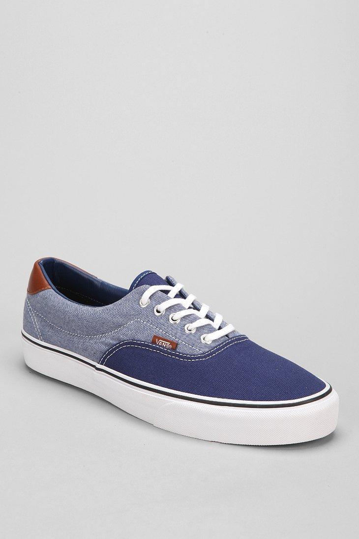 9fed739f3cc7 Lyst - Vans Era 59 Canvas Chambray Men S Sneaker in Blue for Men