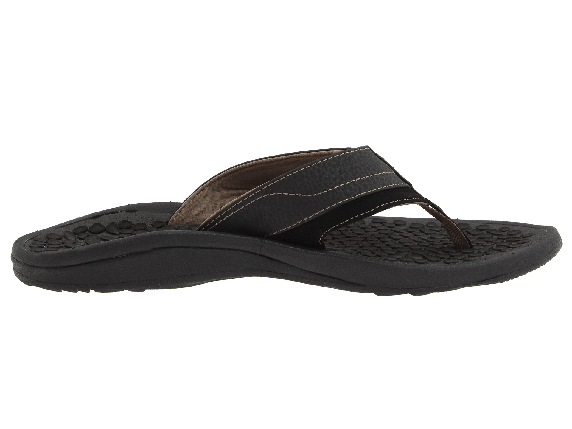 40a84e2bc4f9 Lyst - Reef Playa Negra in Black for Men