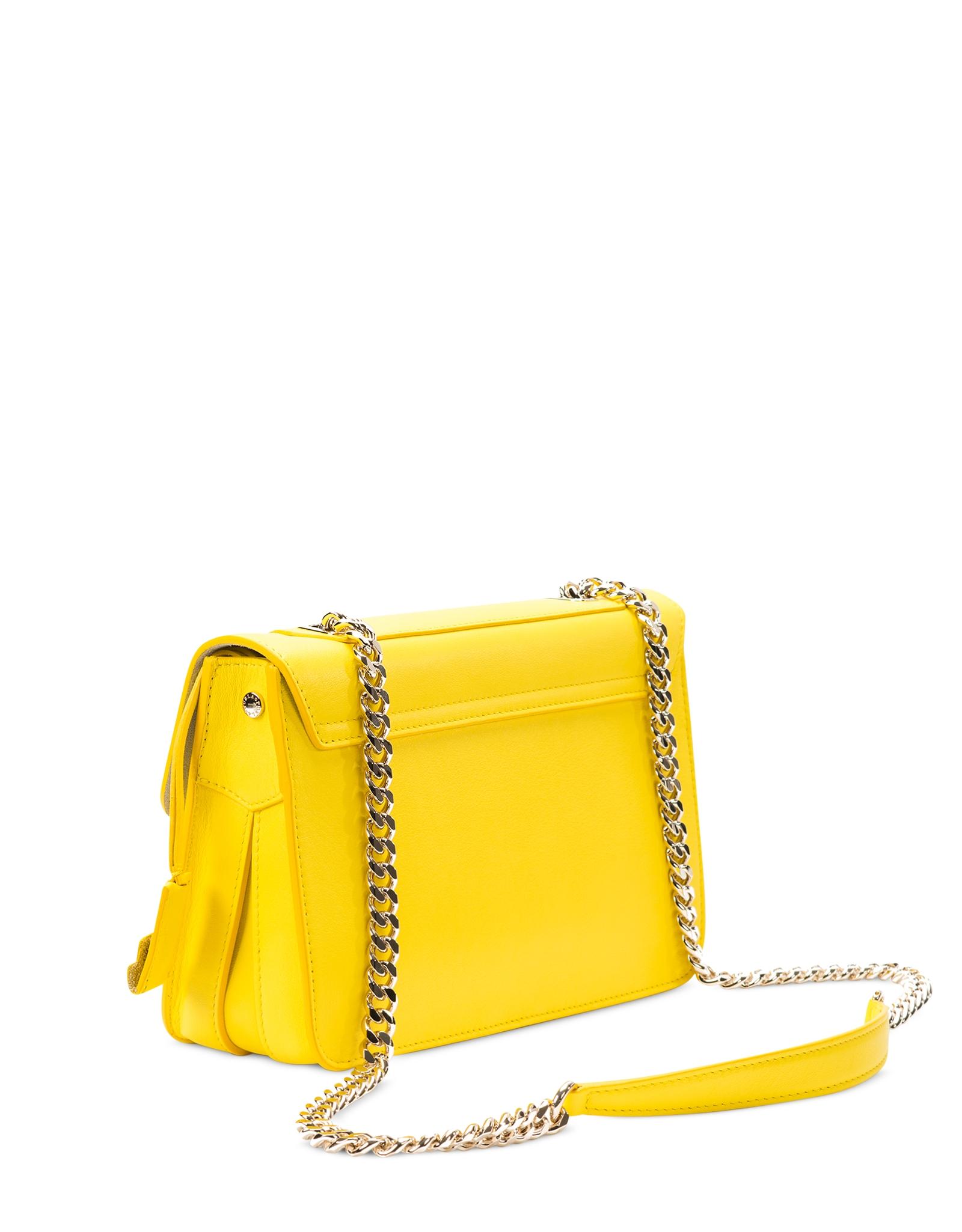 aa657cb541 Furla Alice Sunny Yellow Leather Crossbody Bag in Yellow - Lyst