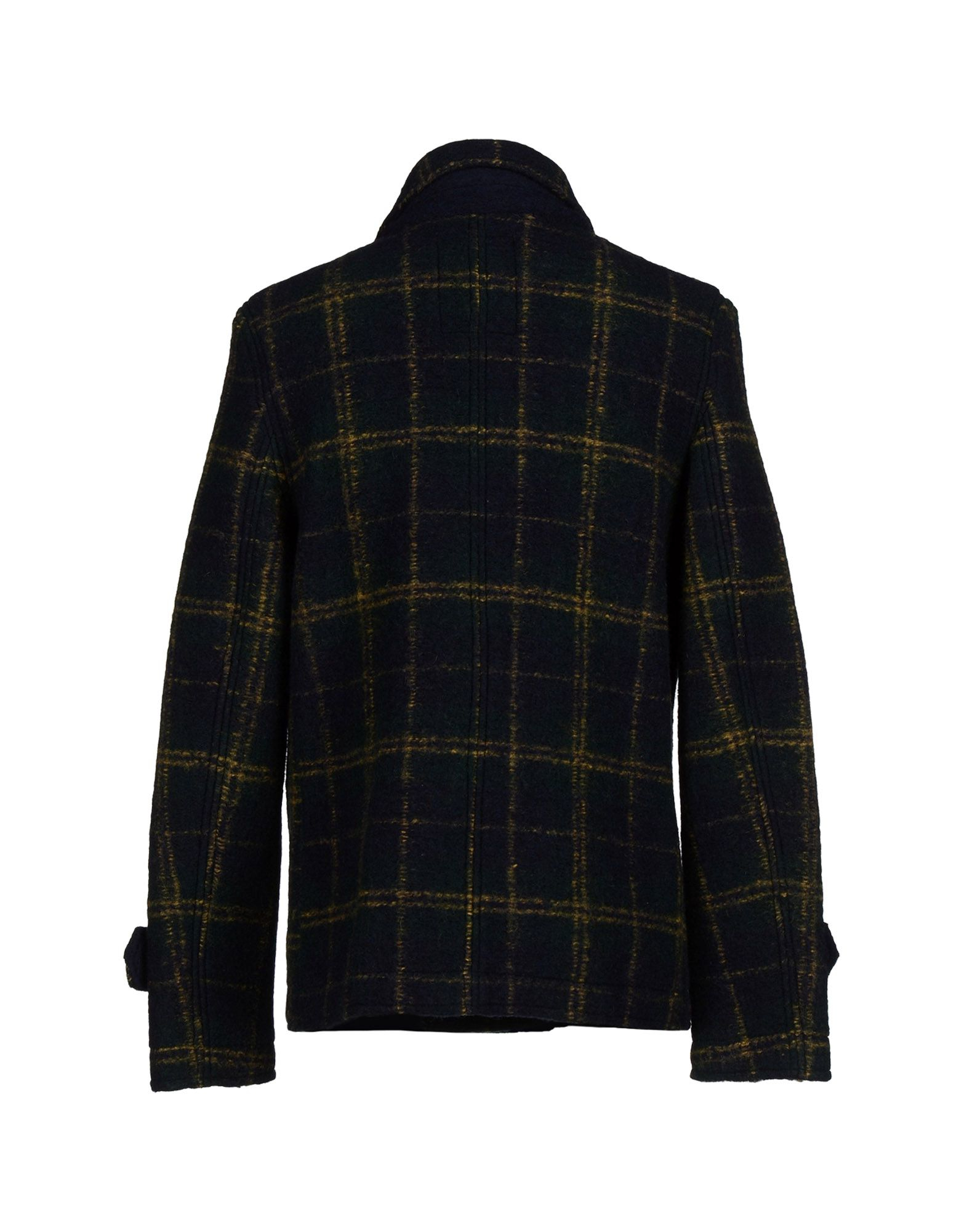 Lyst At P Co Coat In Green For Men