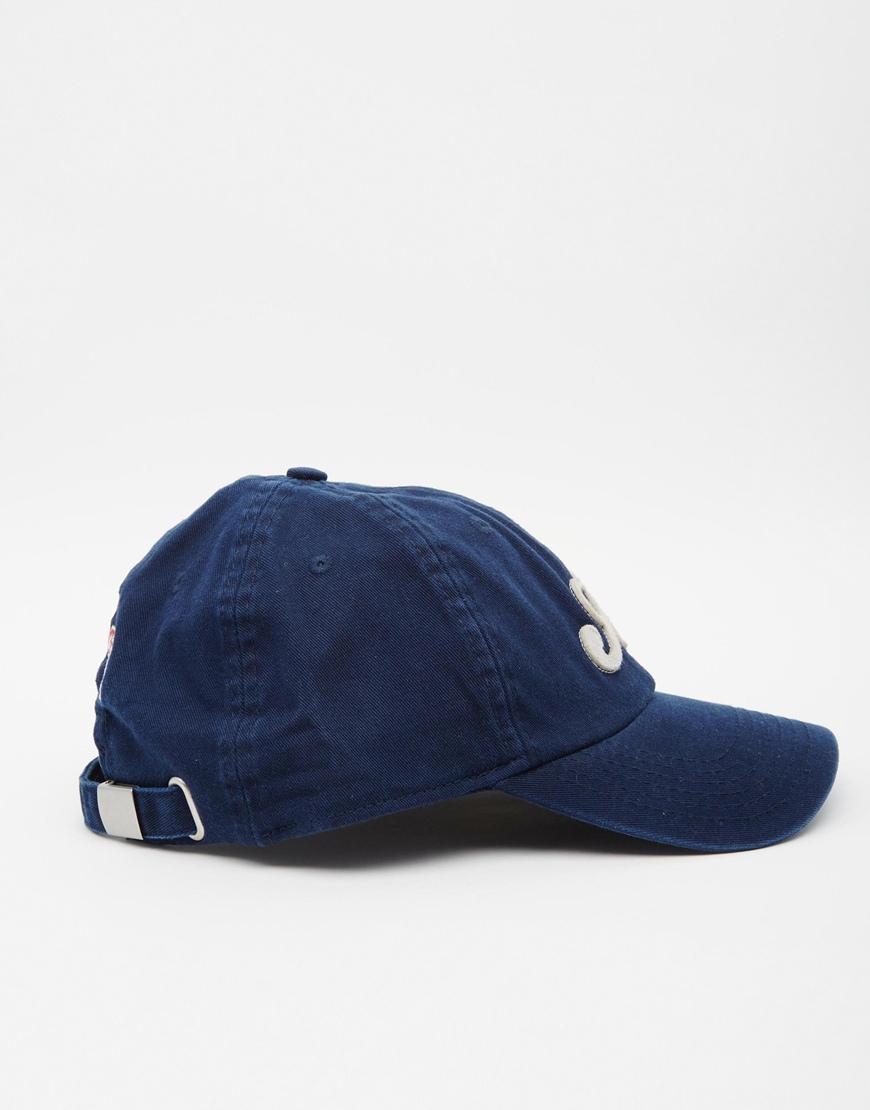 Lyst - Jack   Jones Baseball Cap in Blue for Men ce2763dbffa