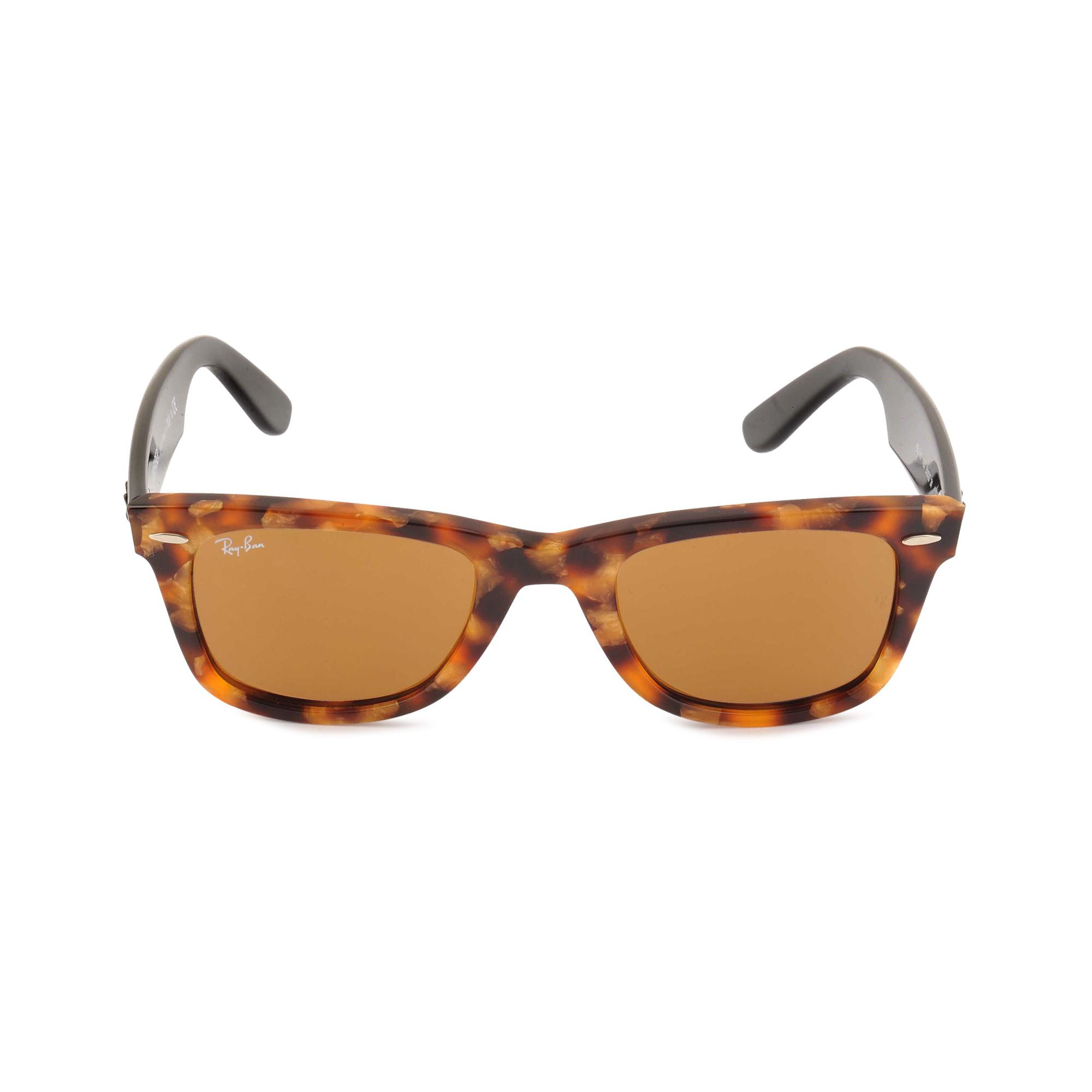 ray ban original wayfarer 2140 sunglasses in brown lyst. Black Bedroom Furniture Sets. Home Design Ideas