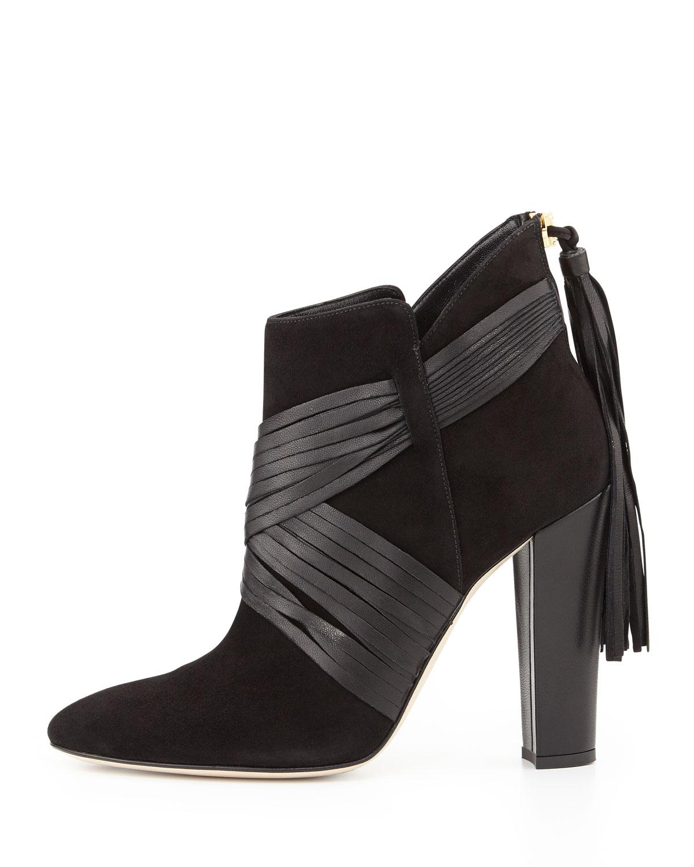 Awesome NIB Landsu0026#39; End Womenu0026#39;s Harris Ankle Boots Black Suede Size 11 M $139 | EBay