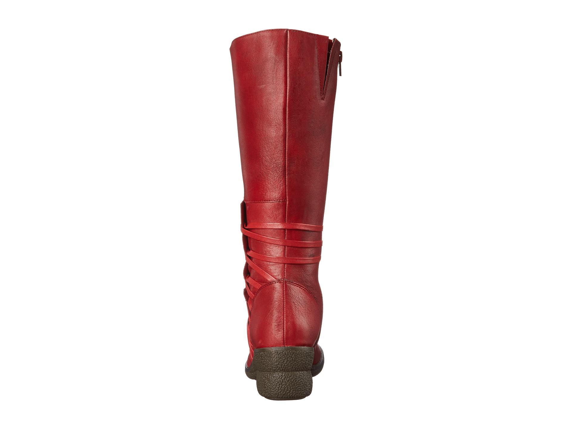 02c87f843ff Lyst - Miz Mooz Orson Wide Calf in Red