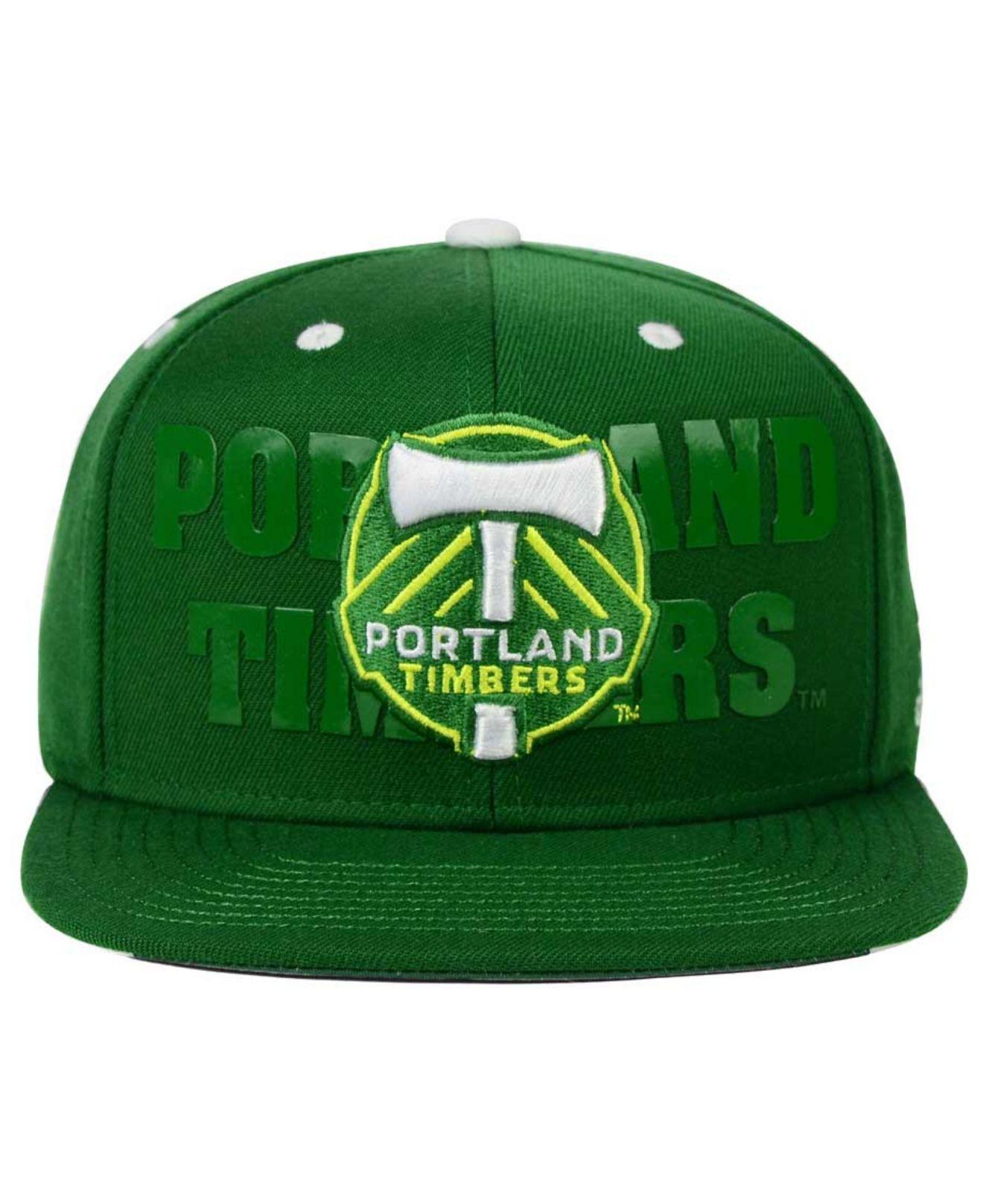 5b2e82f031f Lyst - adidas Originals Portland Timbers Academy Snapback Cap in ...