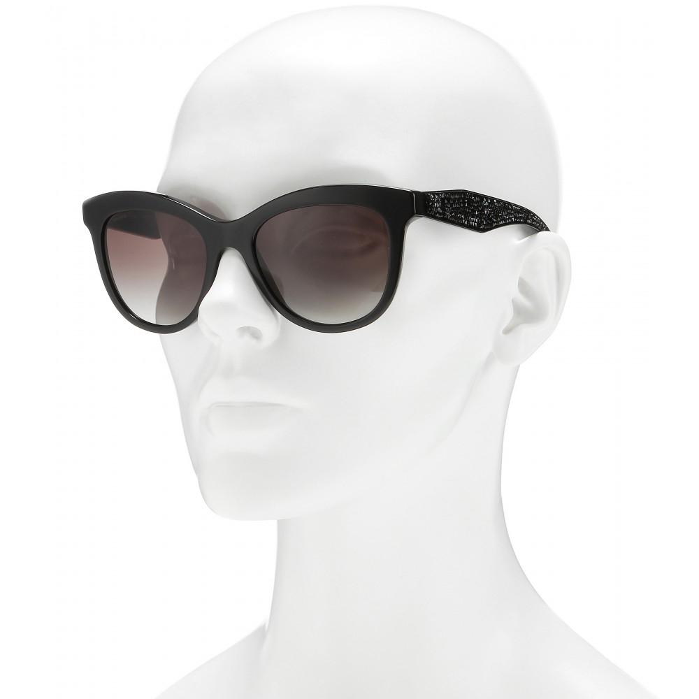 Miu Miu D-Frame Sunglasses in Black