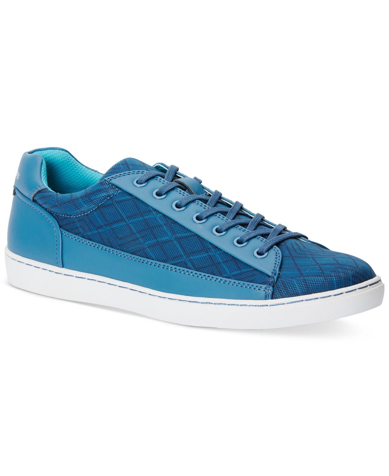 calvin klein jeans men 39 s zamir sneakers in blue for men lyst. Black Bedroom Furniture Sets. Home Design Ideas