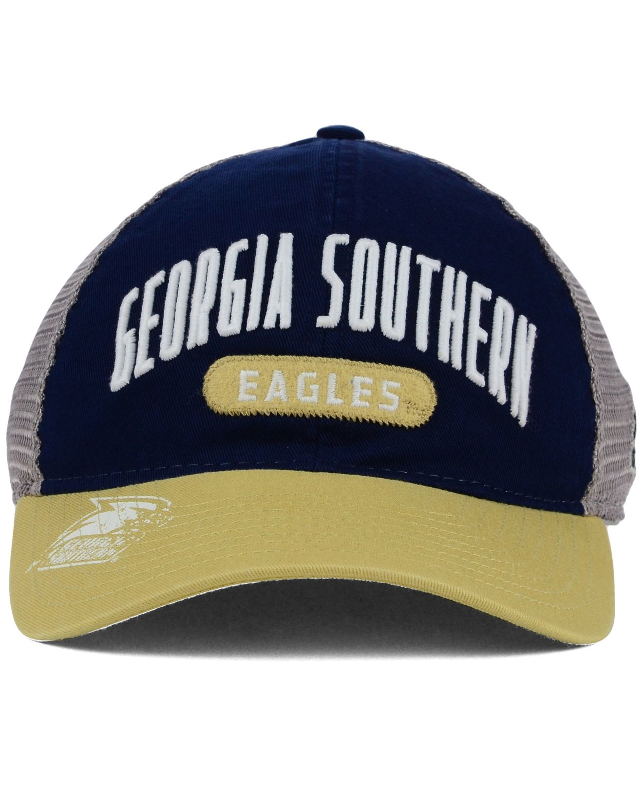 b7c8435e9fc Lyst - adidas Originals Georgia Southern Eagles Adjustable Mesh ...