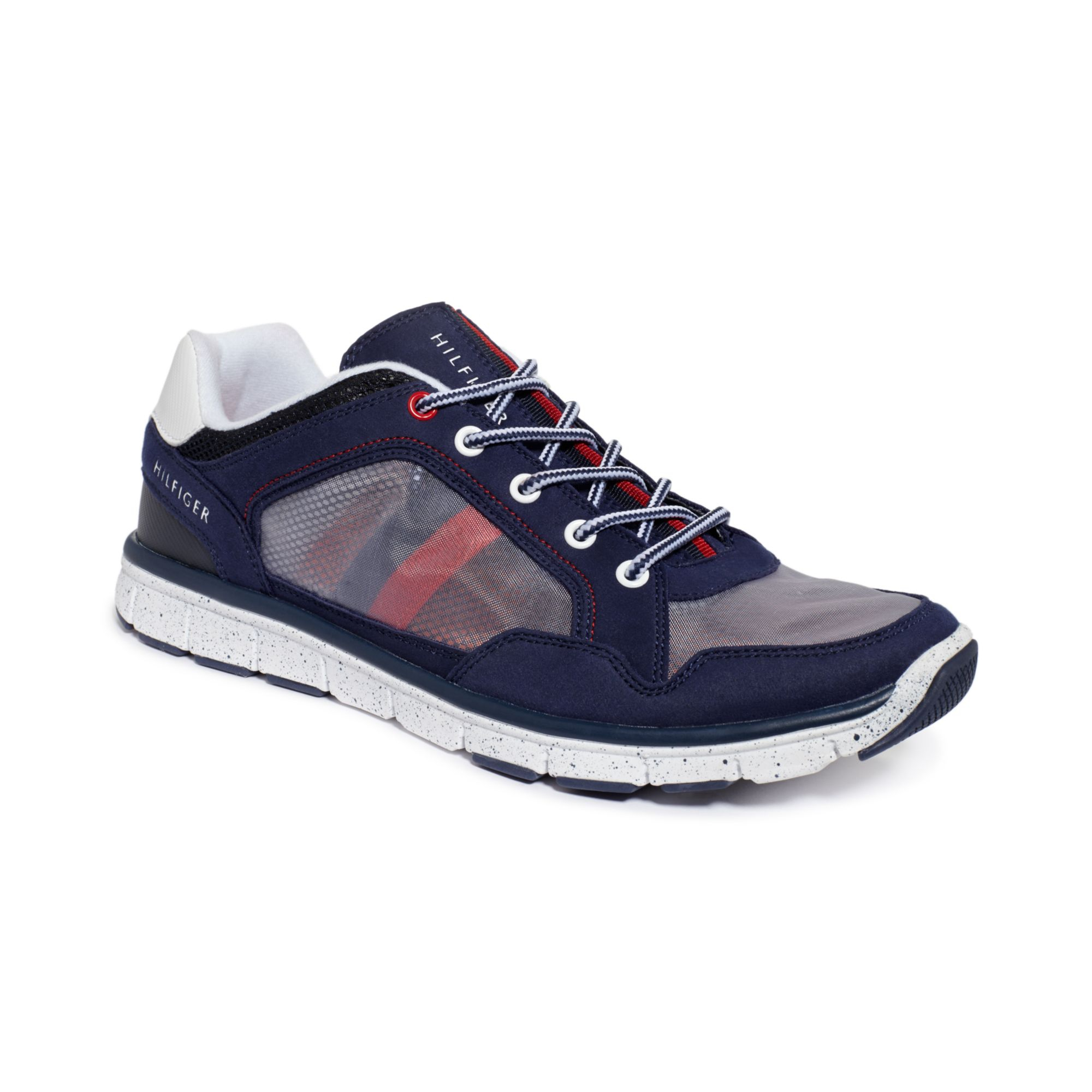 tommy hilfiger krone sneakers in blue for men navy white lyst. Black Bedroom Furniture Sets. Home Design Ideas