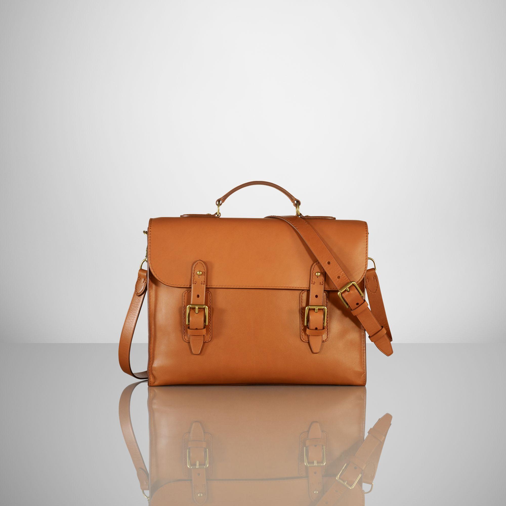 971d1b5de3 Ralph Lauren Gents Classic Briefcase in Brown for Men - Lyst