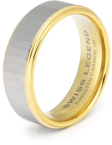 Swiss Tungsten Ring
