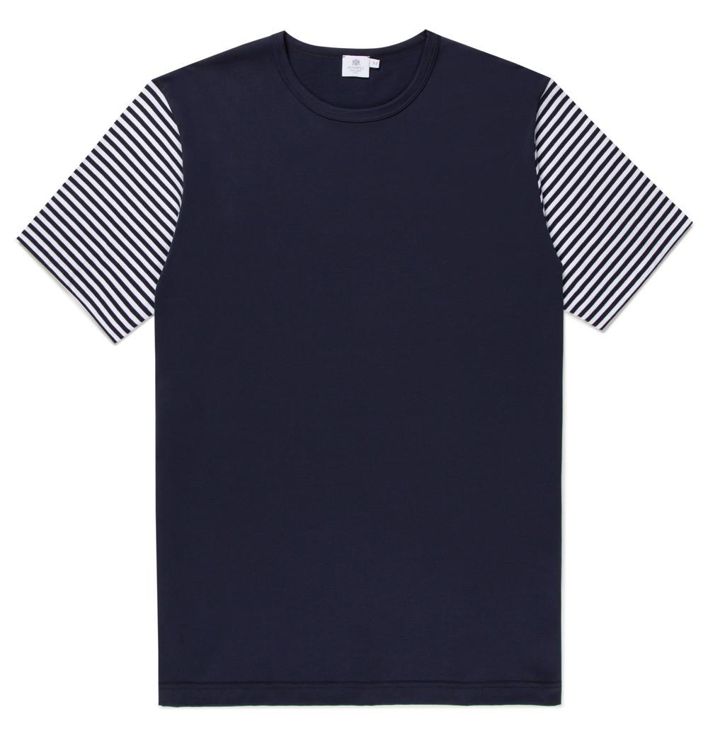 sunspel men s long staple cotton t shirt with english