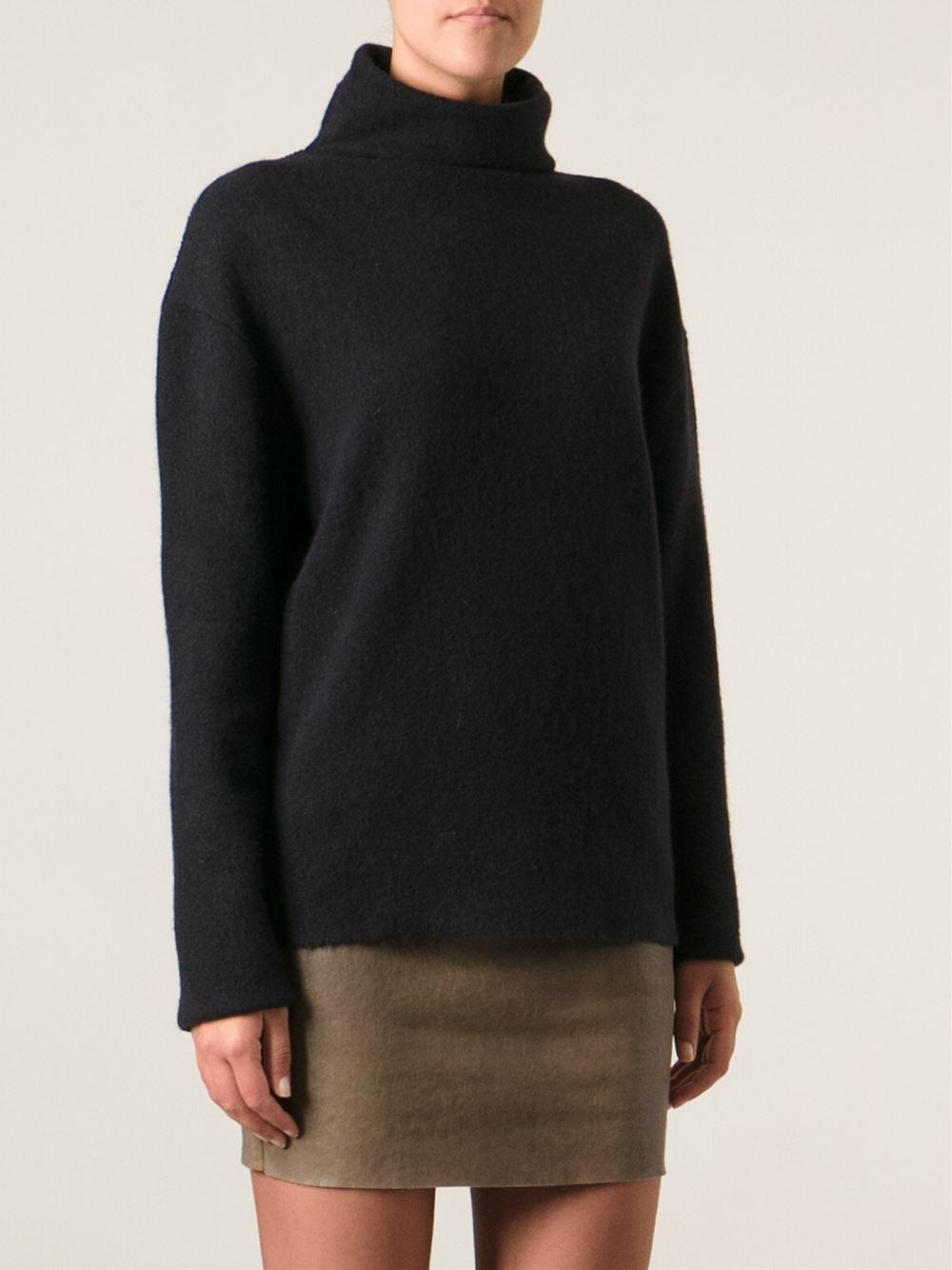 isabel marant turtle neck sweater in black lyst. Black Bedroom Furniture Sets. Home Design Ideas