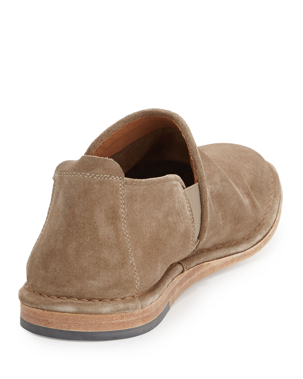 d2ceea87f87f Lyst - Vince Nico Suede Slip-On Shoe in Brown for Men