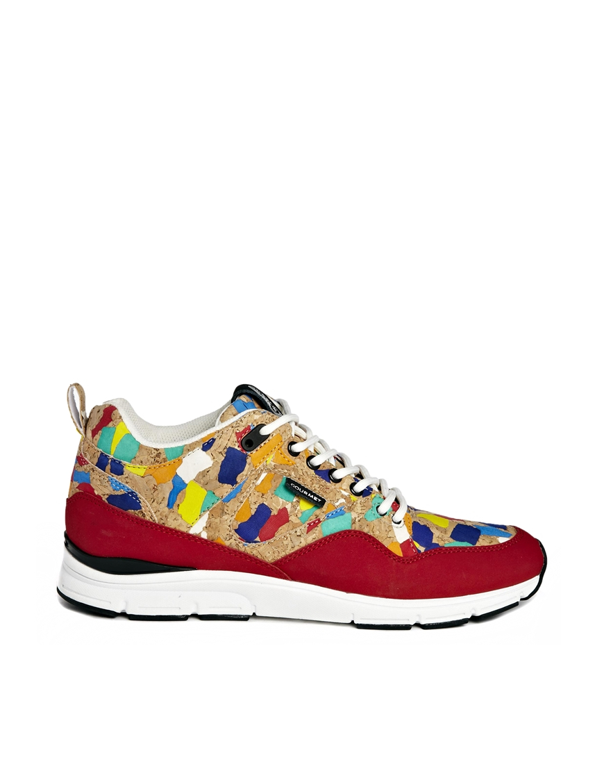 gourmet 35 cork trainers in for lyst
