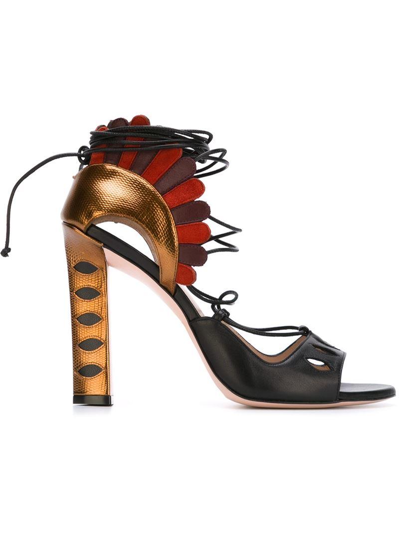 Sandales De Lotus - Noir Cademartori Paula 310IG7
