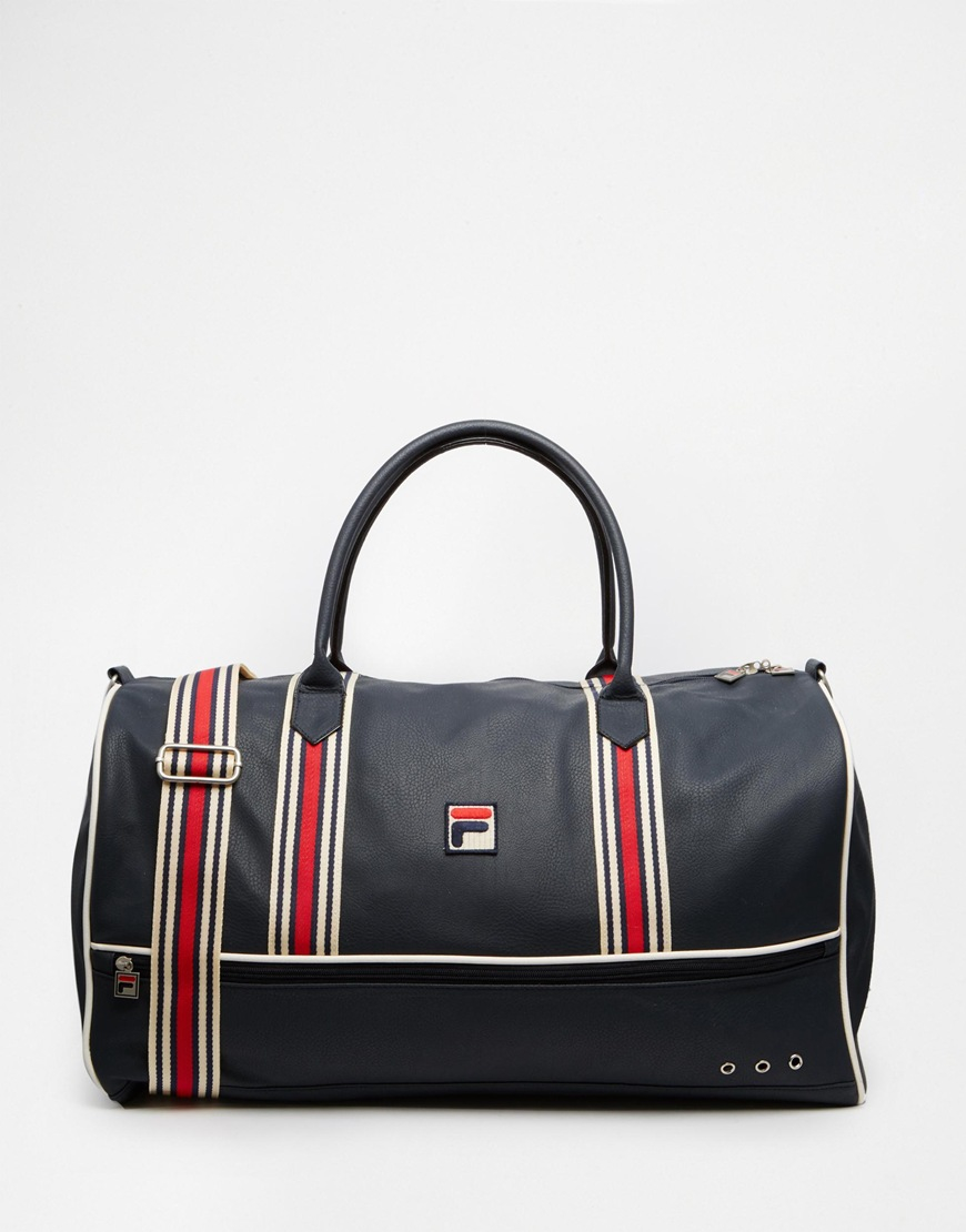 Fila Small Holdall in Blue for Men | Lyst