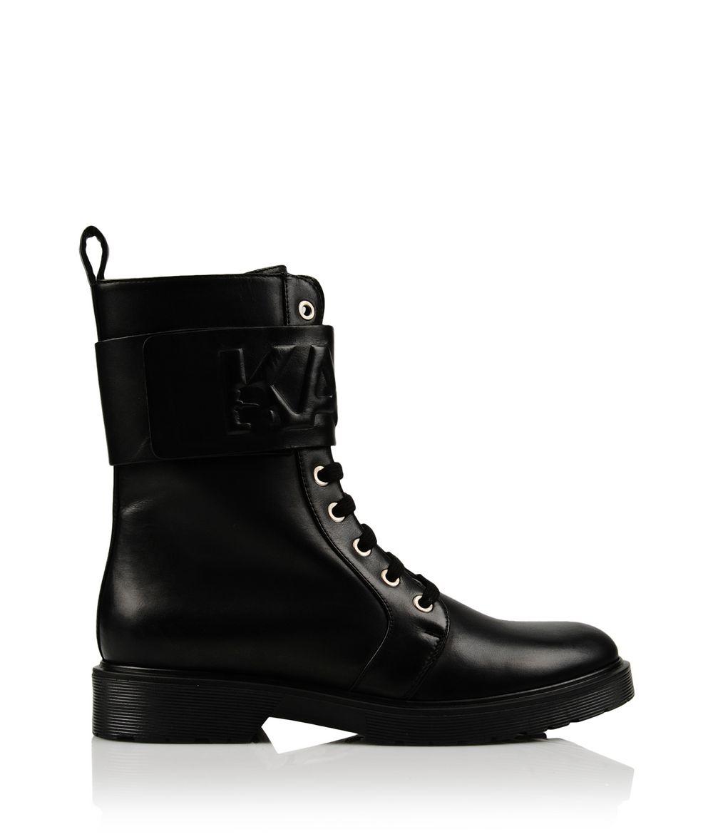 Karl Lagerfeld K Track Boot In Black Lyst