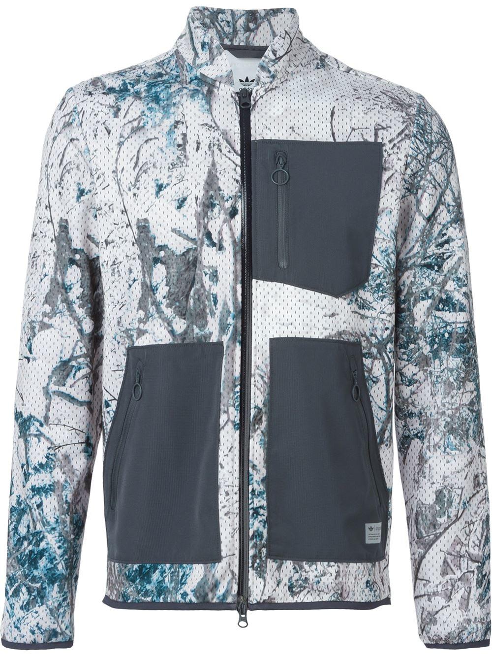 6ea49928 adidas Originals 'snow Camo' Sport Jacket in Natural for Men - Lyst