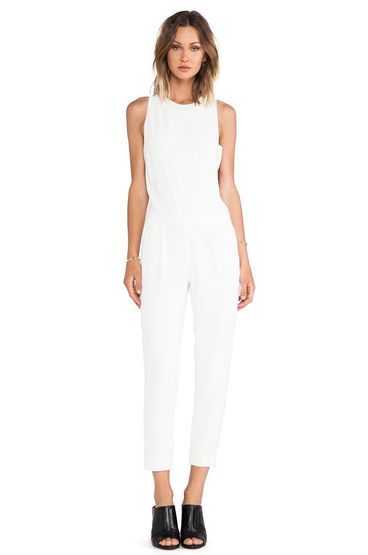 9be9379abaca Lyst - Trina Turk Yasmine Jumpsuit in White