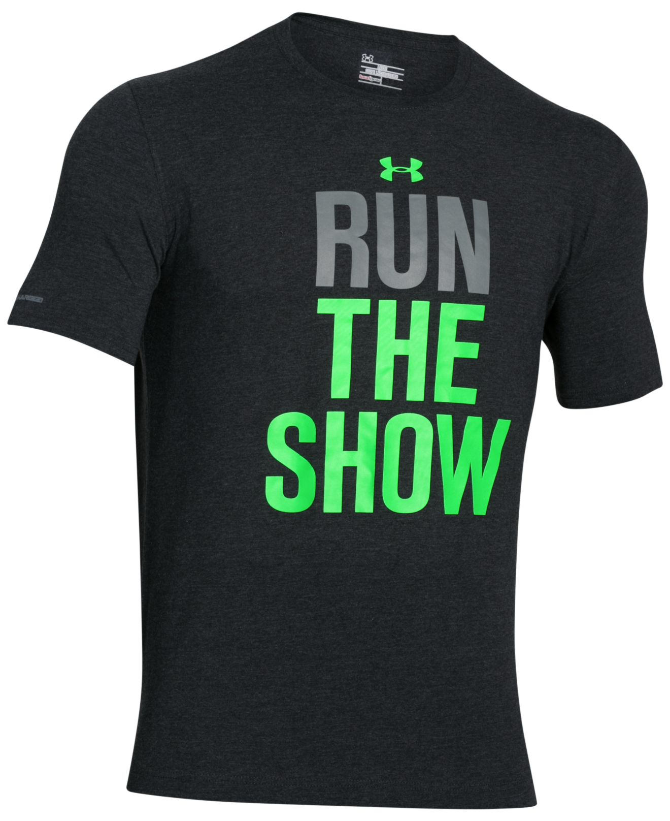 Under armour Men's Run The Show Graphic T-shirt in Black for Men ...