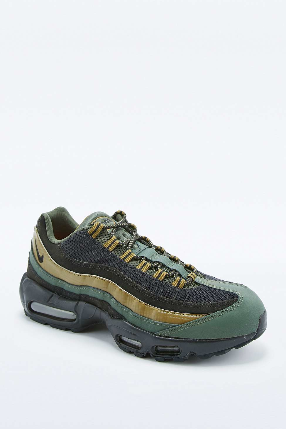 fcbb09e9dc Nike Air Max 95 Essential Khaki And Black Trainers in Natural for ...