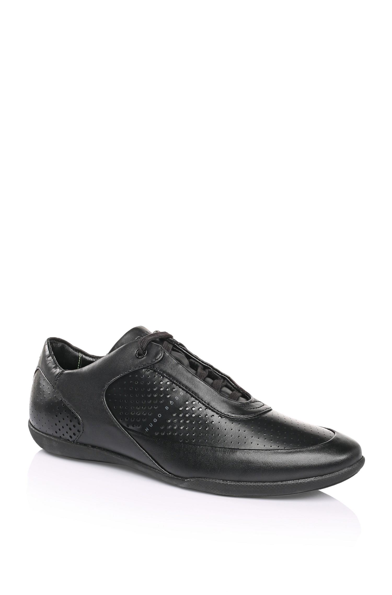 Black Green Nike Shoes Dots