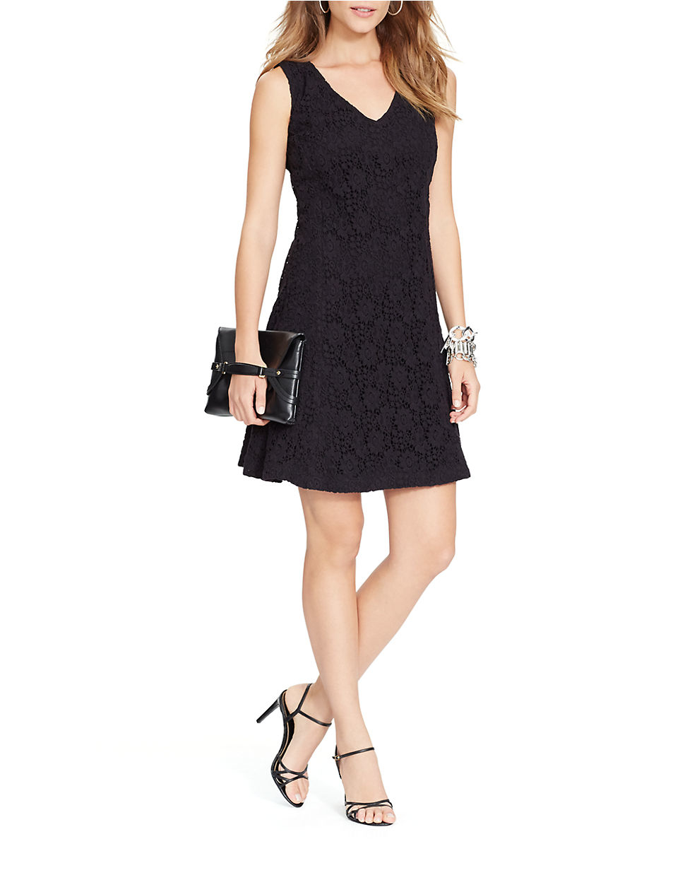 Lulus Exclusive! You'll be collecting notes from secret admirers right and left when you don the Lulus Love Poem Black Lace Dress! A lively pattern of floral lace creates an eye-catching overlay atop knit fabric. Halter neckline and darted sleeveless bodice transition into a chic, sheath skirt /5(K).