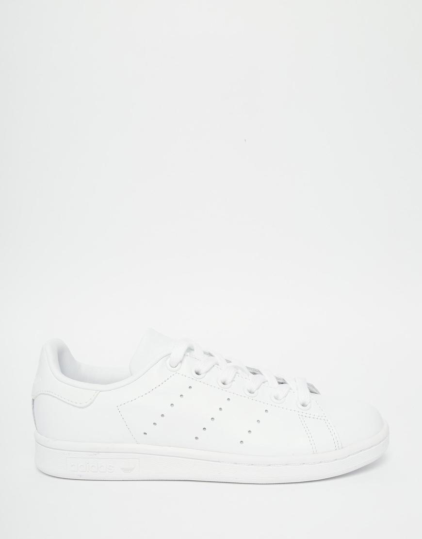 san francisco b5c54 b10c3 Women's Originals Triple White Stan Smith Sneakers
