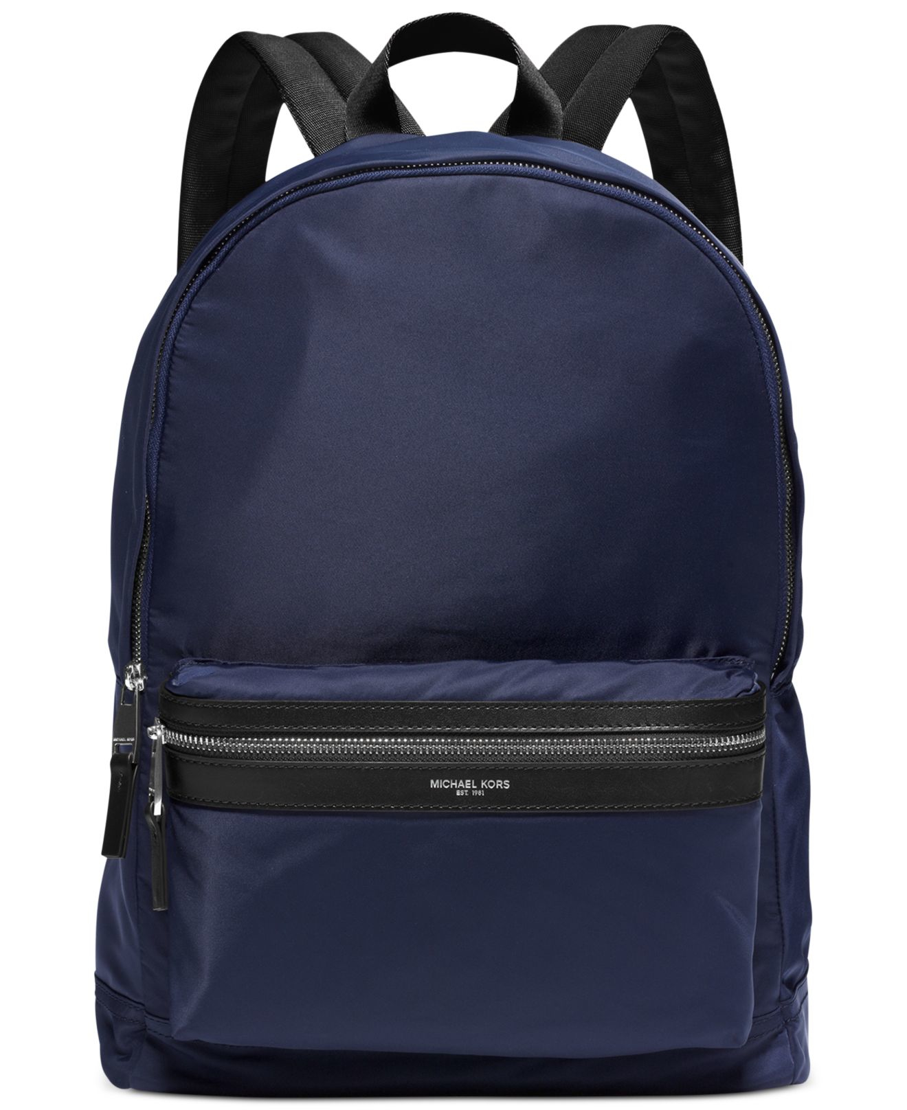 ... Michael Kors Blue Kent Lightweight Nylon Backpack for Men Lyst. View  Fullscreen