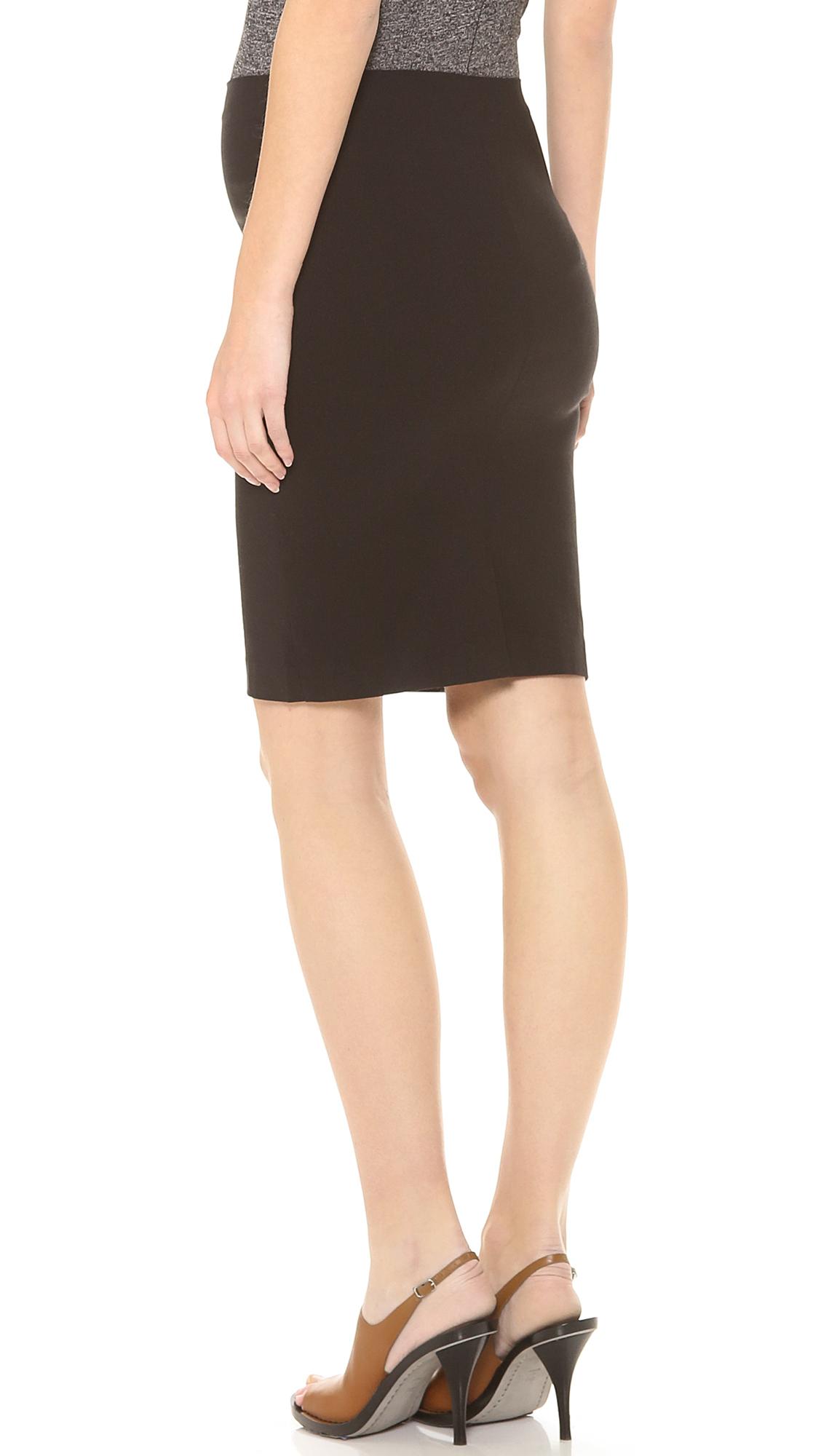 d3cb2f3a1275b Lyst - Rosie Pope Pret Maternity Skirt - Black in Black