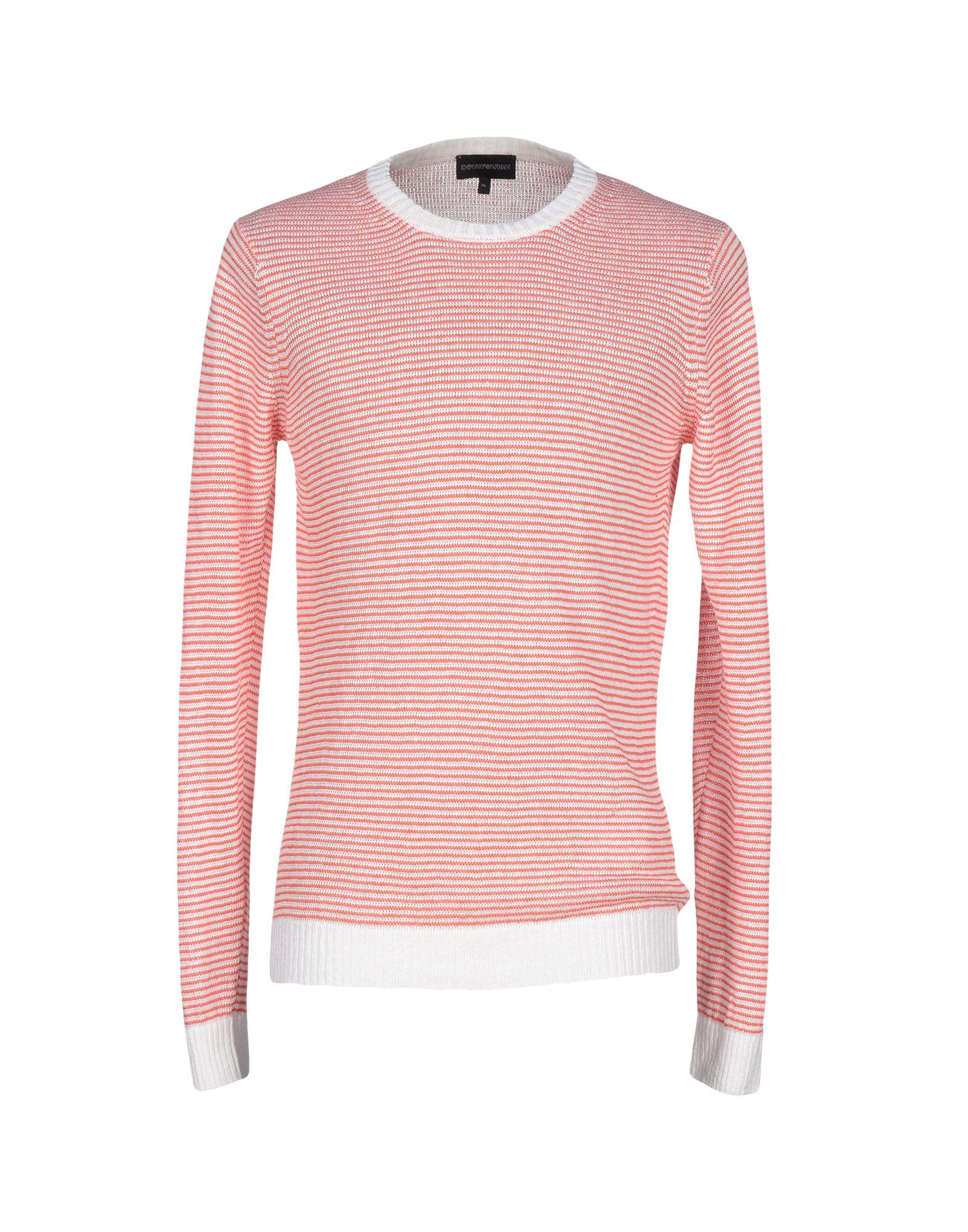 emporio armani sweater in pink for men lyst. Black Bedroom Furniture Sets. Home Design Ideas