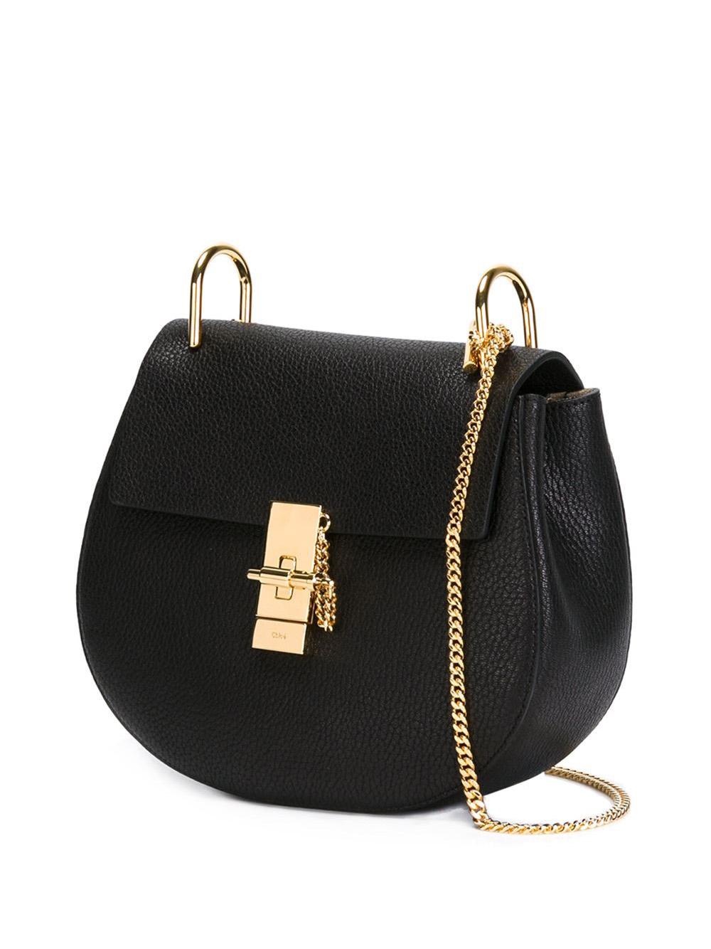 see by chloe purse - nano drew bag in grained calfskin and nappa lambskin