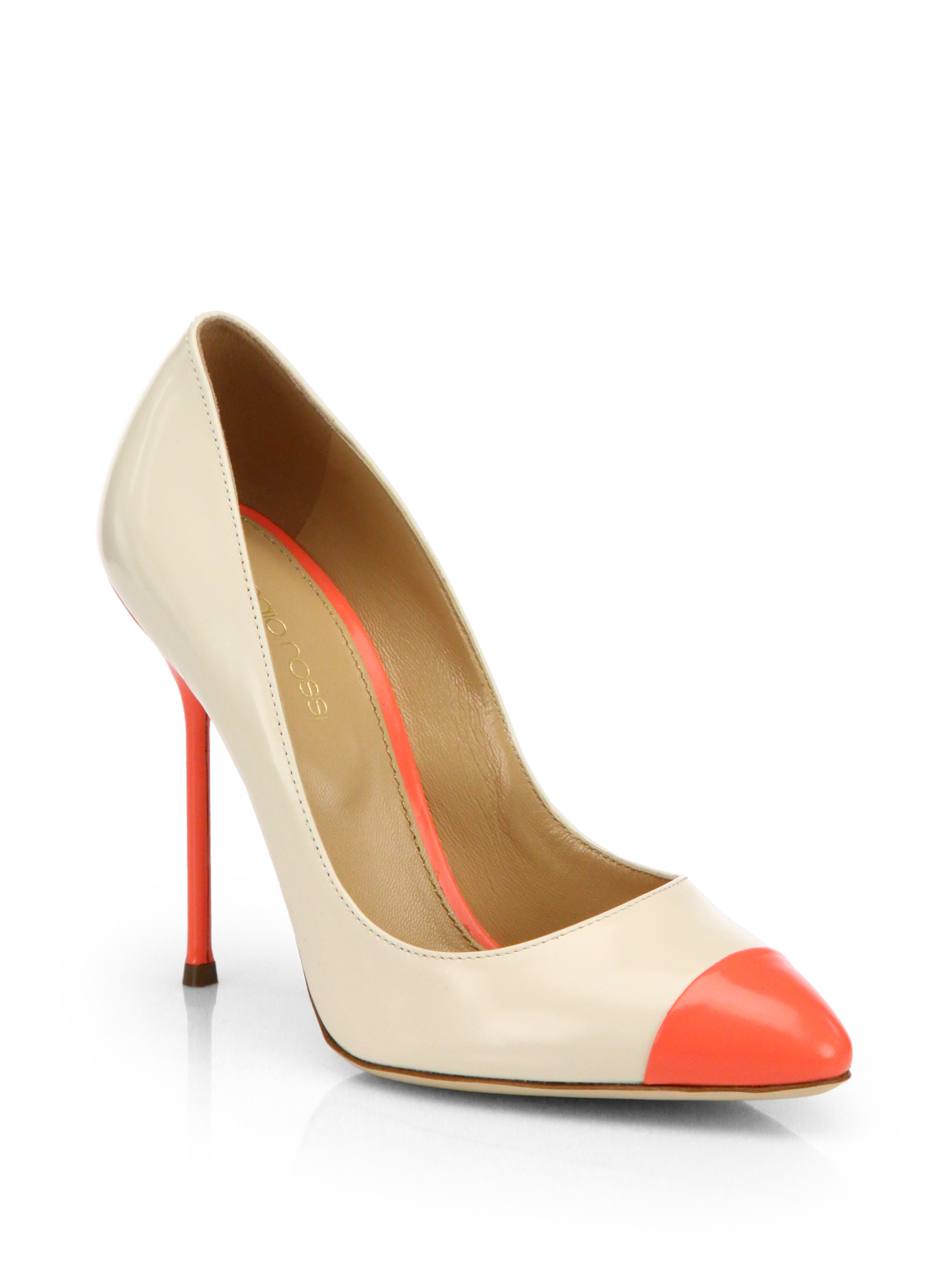Sergio Rossi Suede Cap-Toe Pumps many kinds of cheap price 100% original online outlet low cost Sw8gjUB