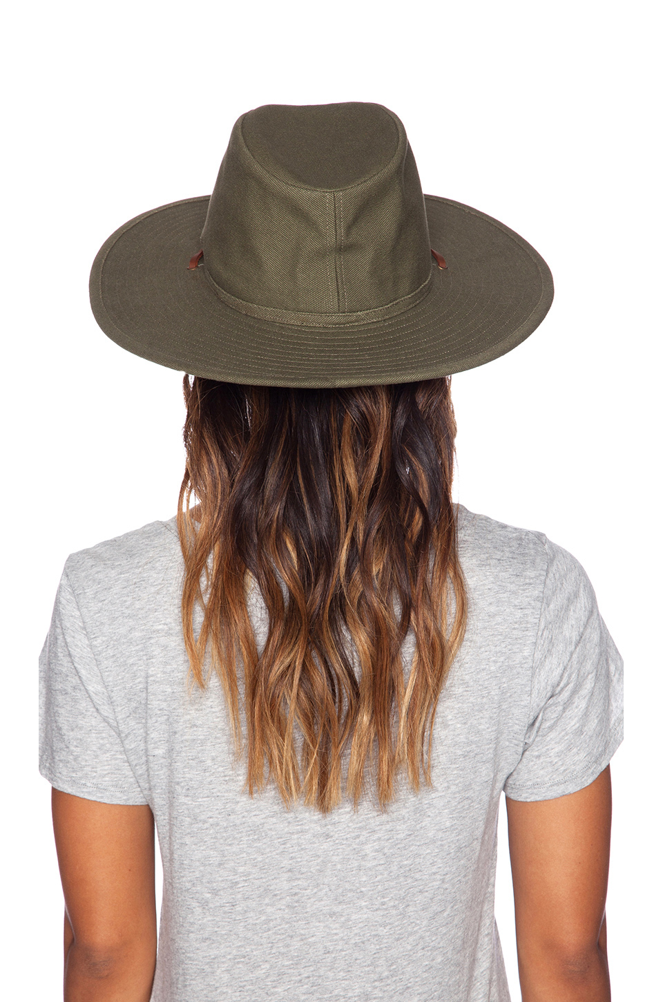 ... shopping lyst brixton ranger hat in green for men e8171 42bba 8a07d954b81