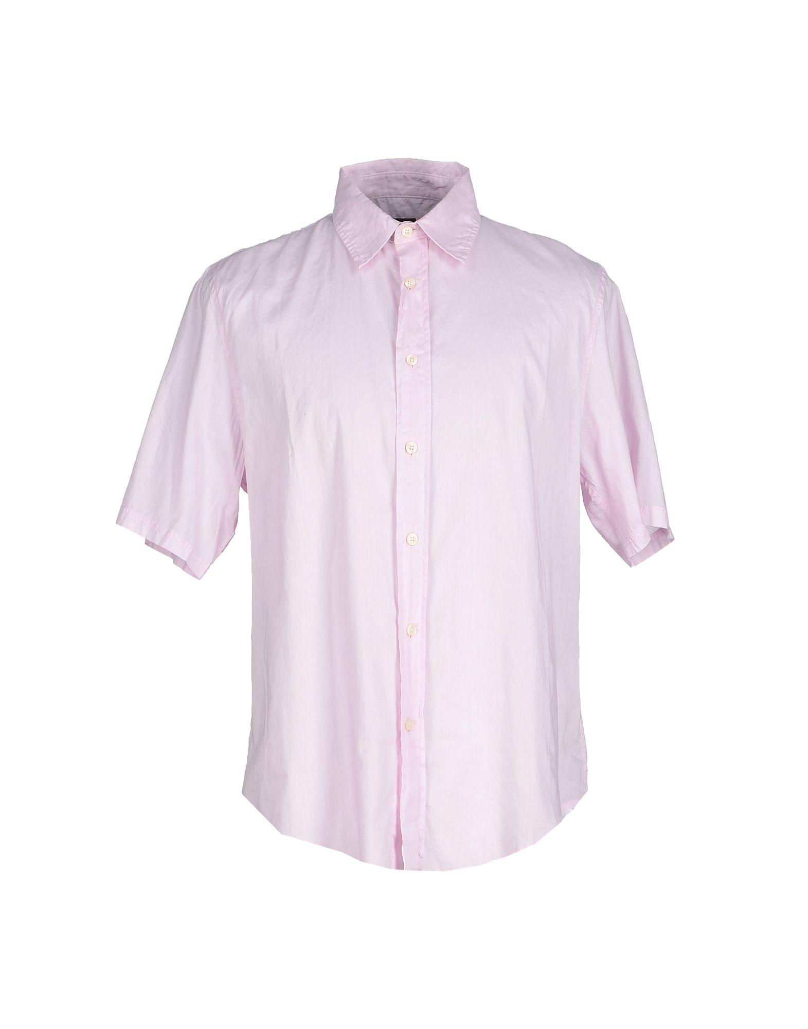 calvin klein jeans shirt in pink for men lyst. Black Bedroom Furniture Sets. Home Design Ideas