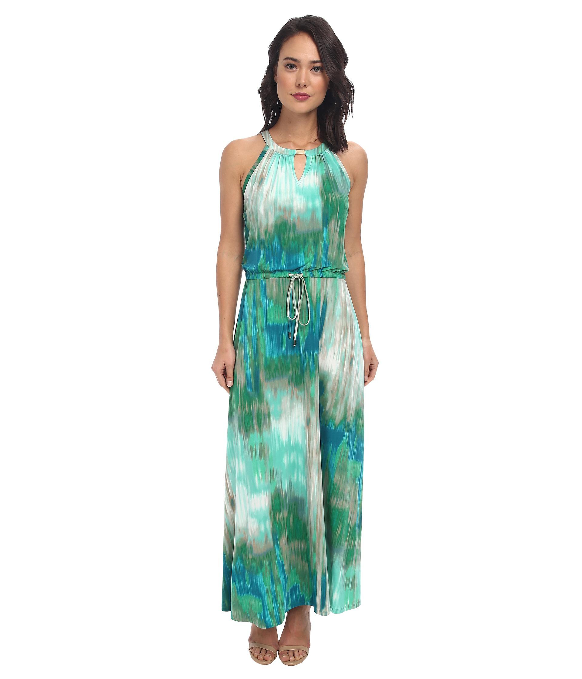 Calvin Klein Leopard Print Maxi Dress | Dress images
