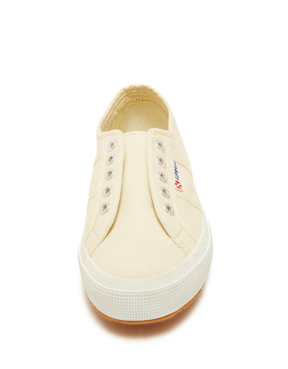 Superga Cotu Slip-on Tennis Shoes in Natural | Lyst