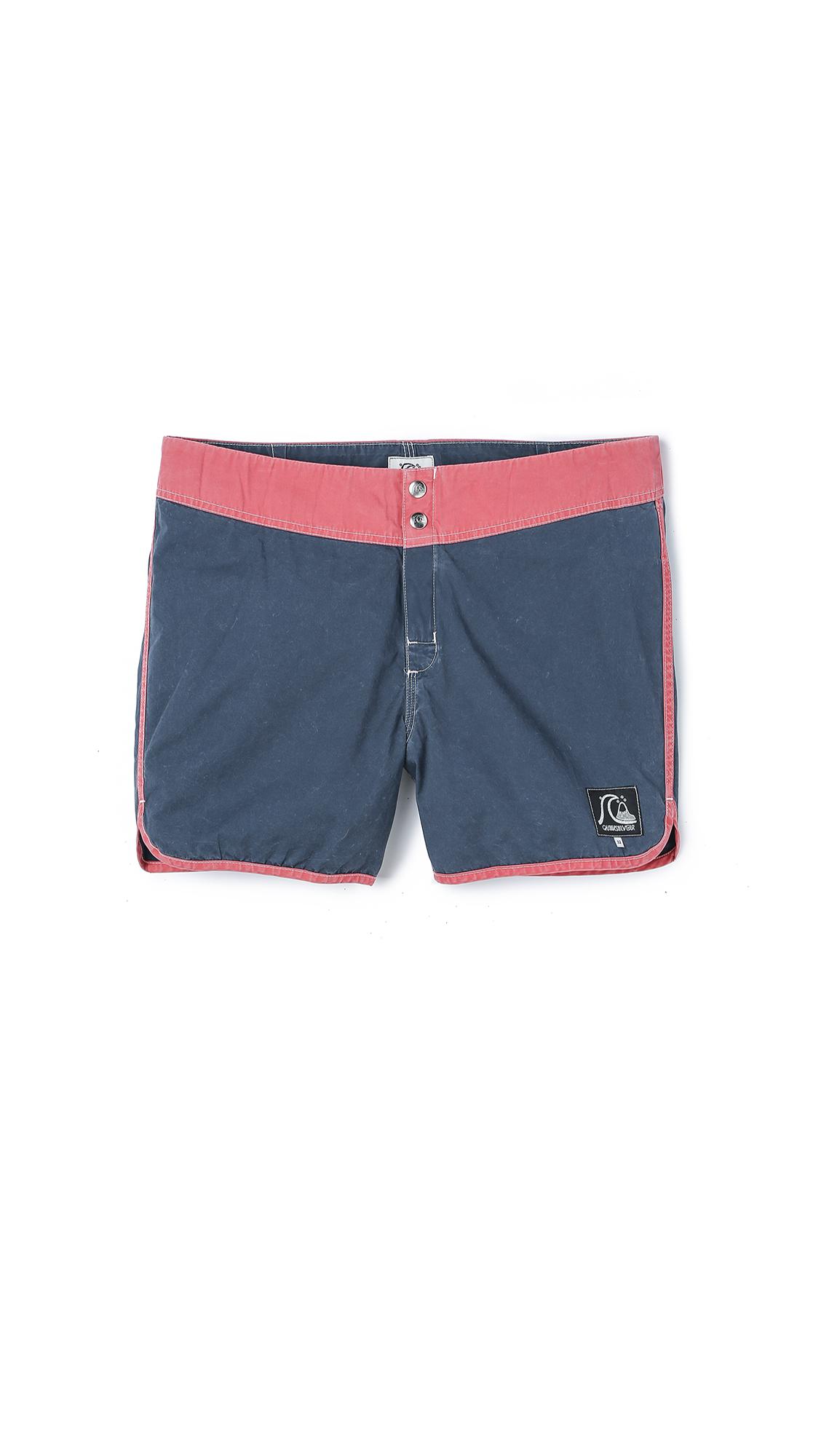 Lyst Quiksilver Original Scallop 15 Board Shorts In Blue For Men Boardshort Mens Gallery
