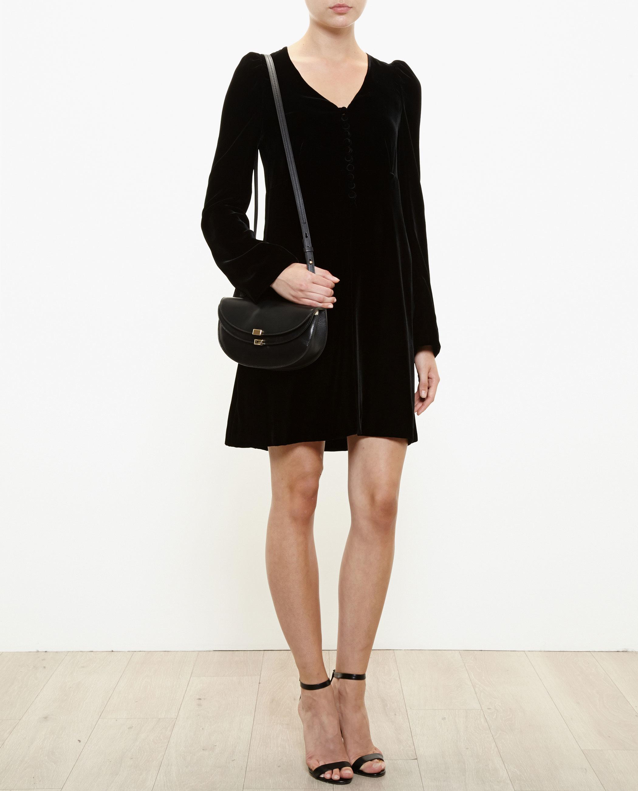 chloe leather handbags - Chlo�� Mini Georgia Bag in Black (BURGUNDY) | Lyst
